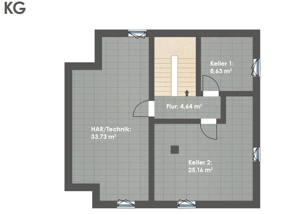 Kellergeschoss HAUS 3b