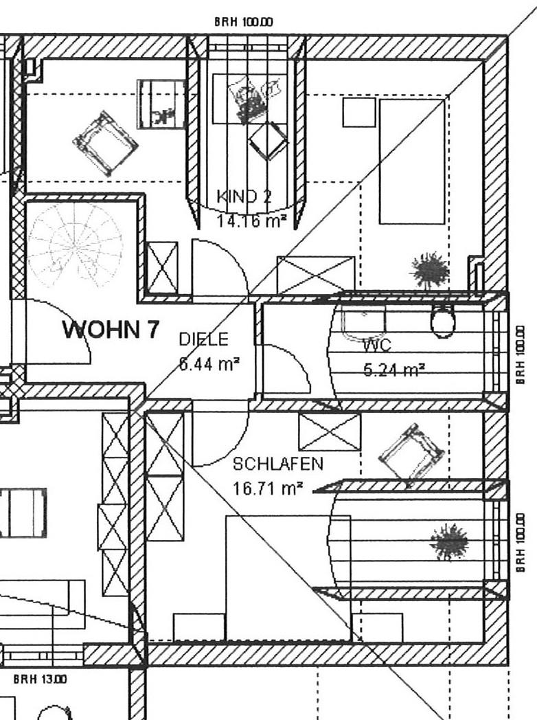 Grundriss W7 Dachgeschoss