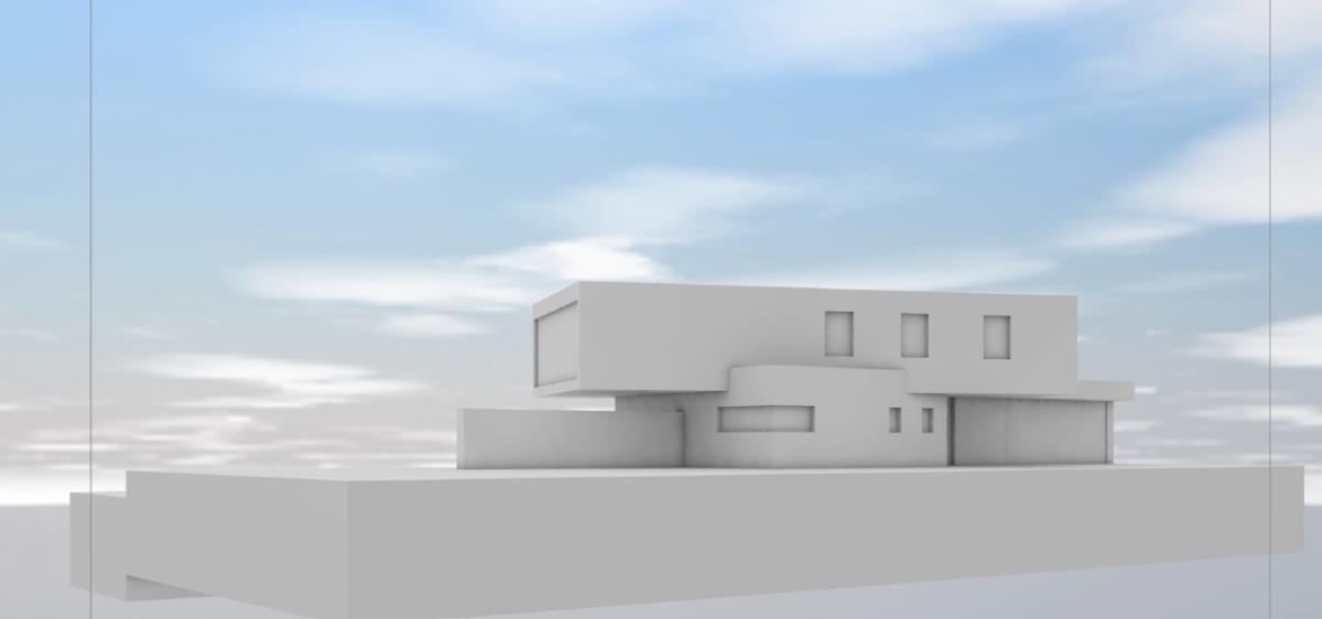 Villa Ostansicht